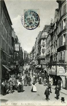 Raddo rue des martyrs document n 206152 iconographie for Miroir rue des martyrs