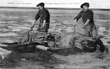 Transport d'engins de pêche