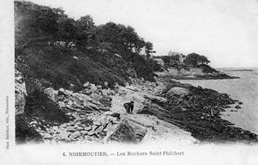 iconographie - Les rochers Saint-Filibert
