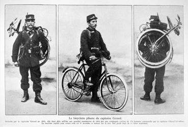 La bicyclette pliante du capitaine Gérard