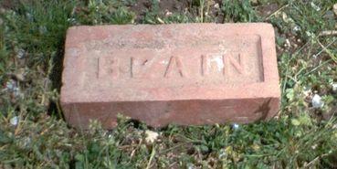 Brique fabriquée à la briqueterie de Blain