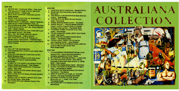 Australiana collection